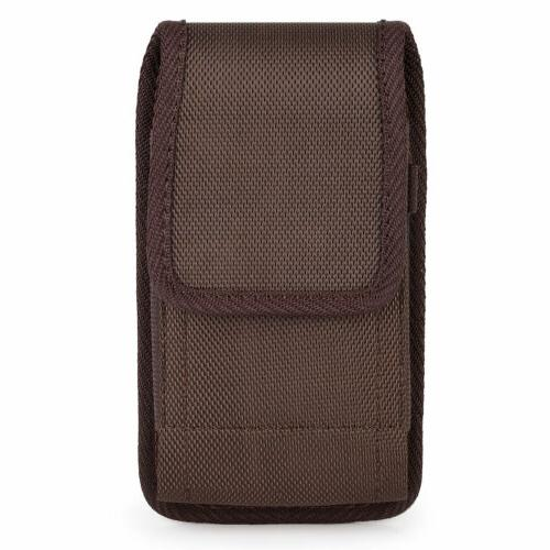 Cell Vertical Nylon Carrying Pouch Case For iPhone