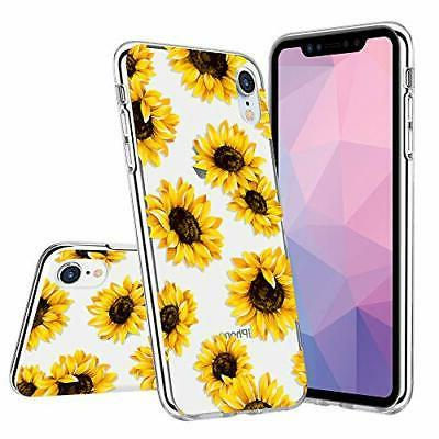 for iPhone XR Floral Case Flower