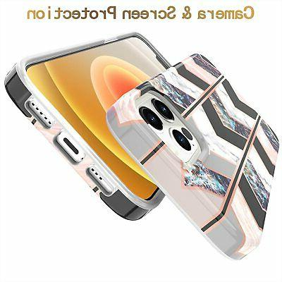 Compatible with iPhone Pro Shiny Rose Wave Marble