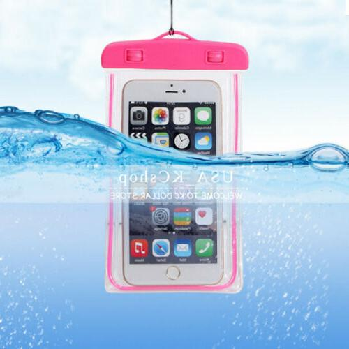 Features: *Phone Mobile 100% Waterproof Cover for
