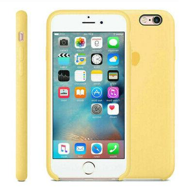 Genuine Silicone Cover iPhone11Pro XR XS 8 Plus