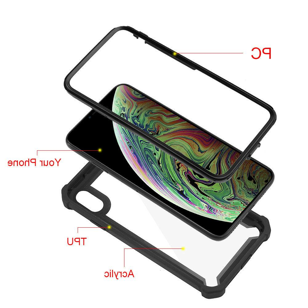 For iPhone XR XS MAX 6 7 Clear Duty