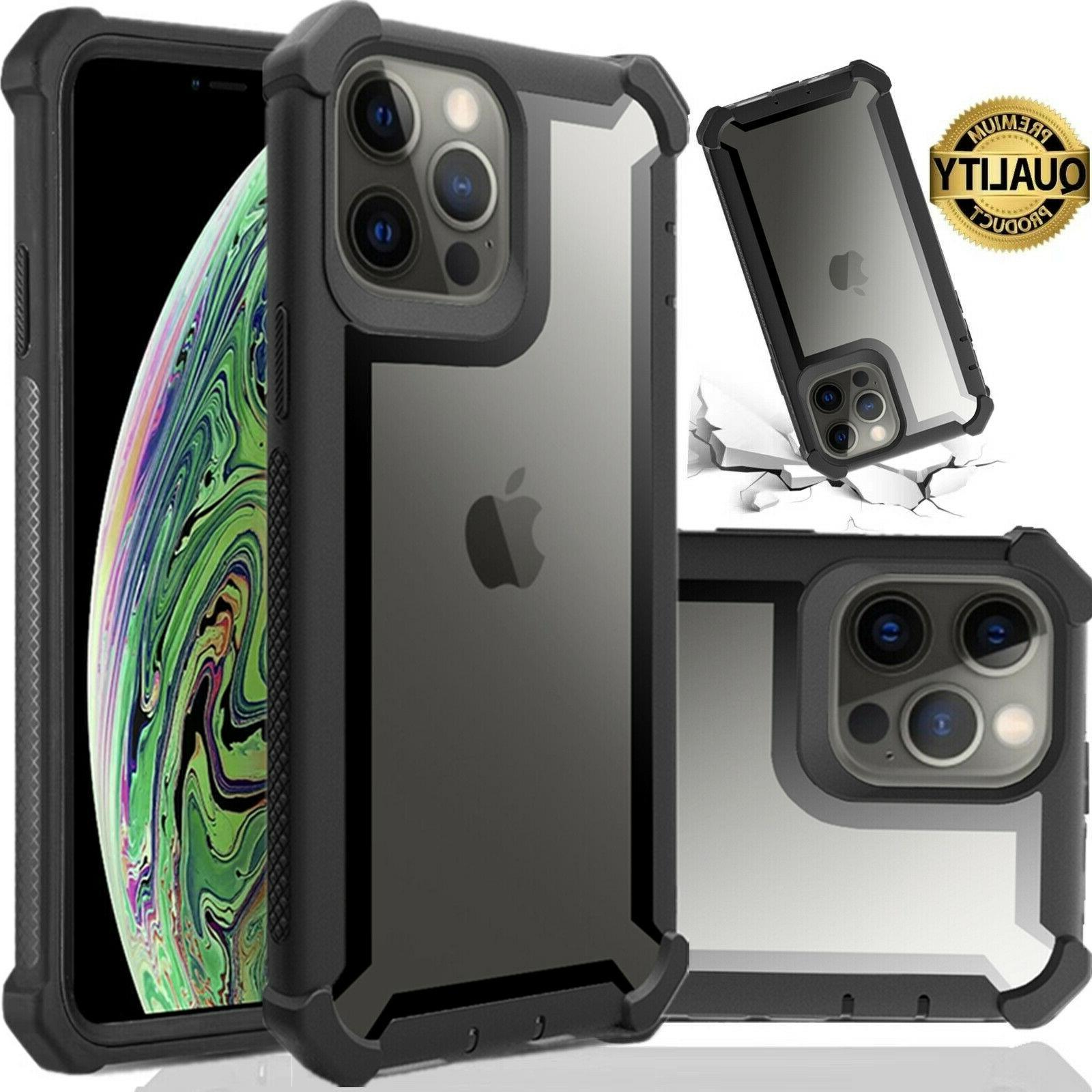 hybrid shockproof heavy duty clear case fits