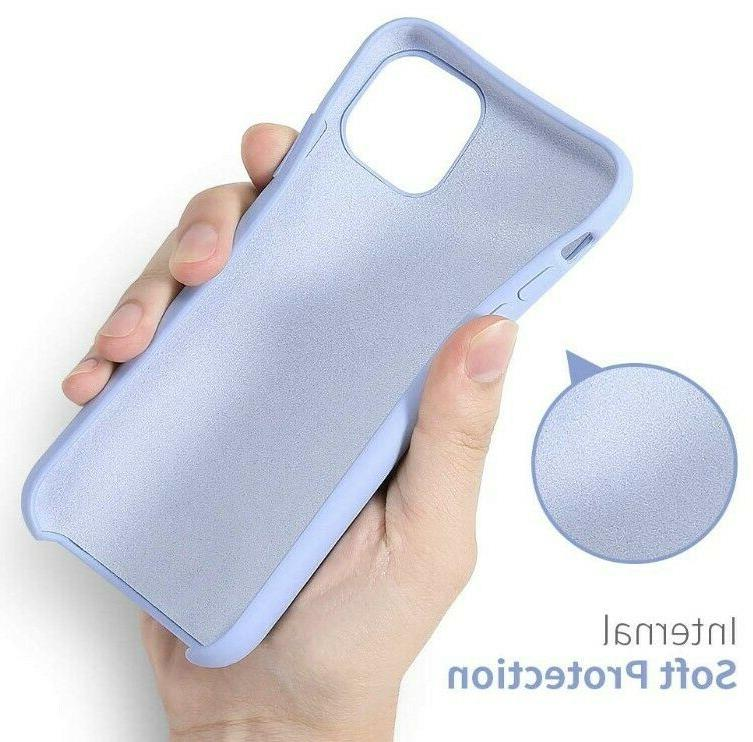RAXFLY Soft Silicone Phone Cases 6.1