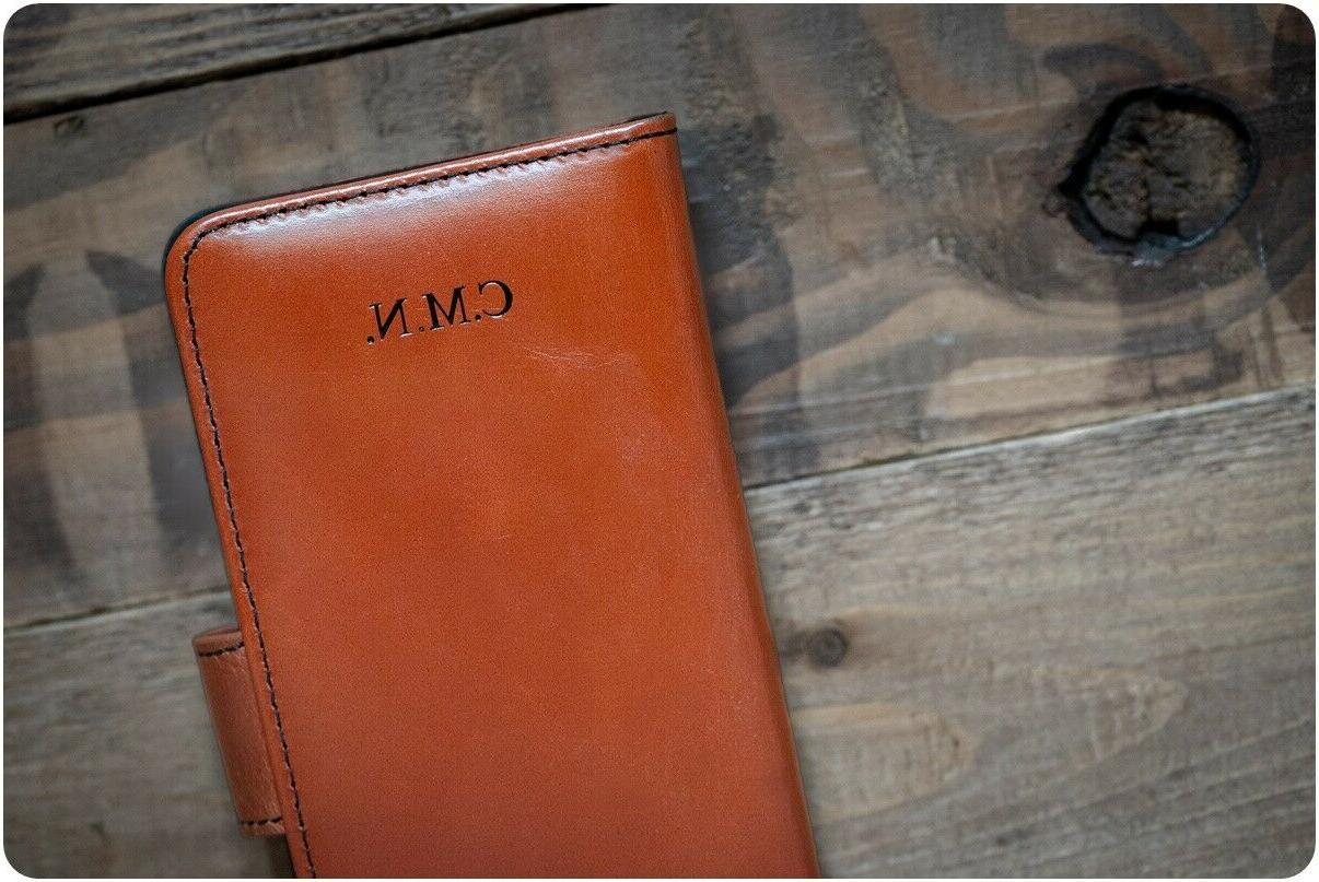 iPhone Genuine Leather Wallet Case Many Design