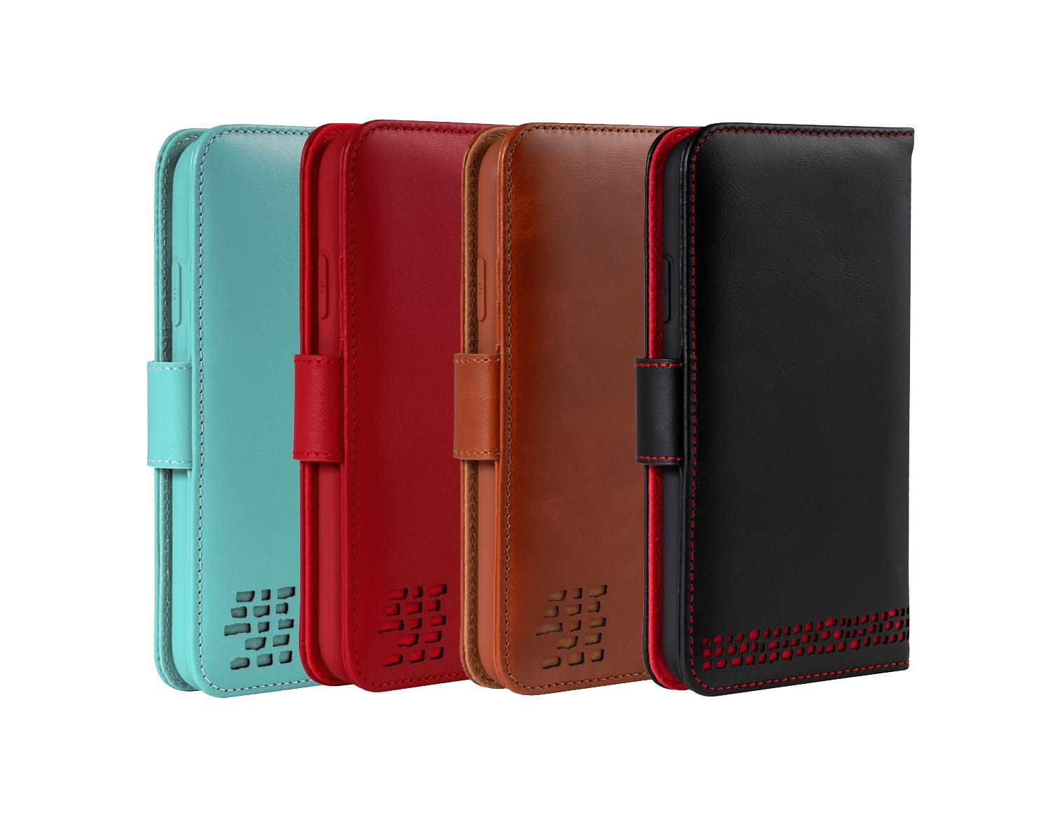 iphone 11 genuine leather wallet phone case