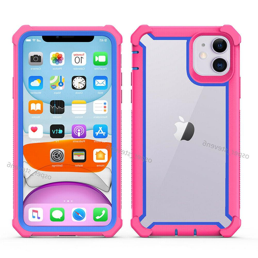 For iPhone 11 Pro Max Shockproof Hybrid Rugged Case Cover