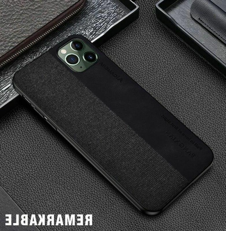 For Max Hybrid Cloth Leather Case Cover