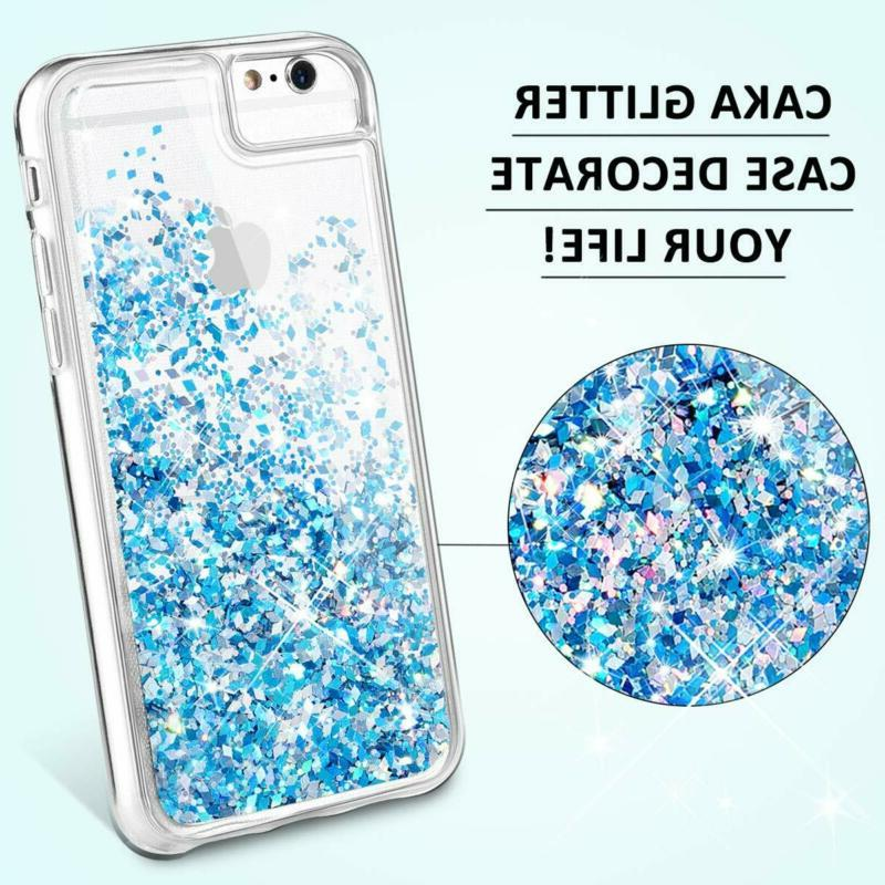 Iphone 6 6S 8 6S Glitter Tempered Glass