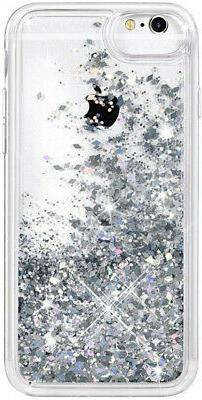For 6S 7 8 iPhone Glitter with Glass