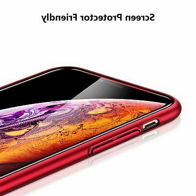 For iPhone 7 8 Plus X XR XS Max Shockproof Slim Hard