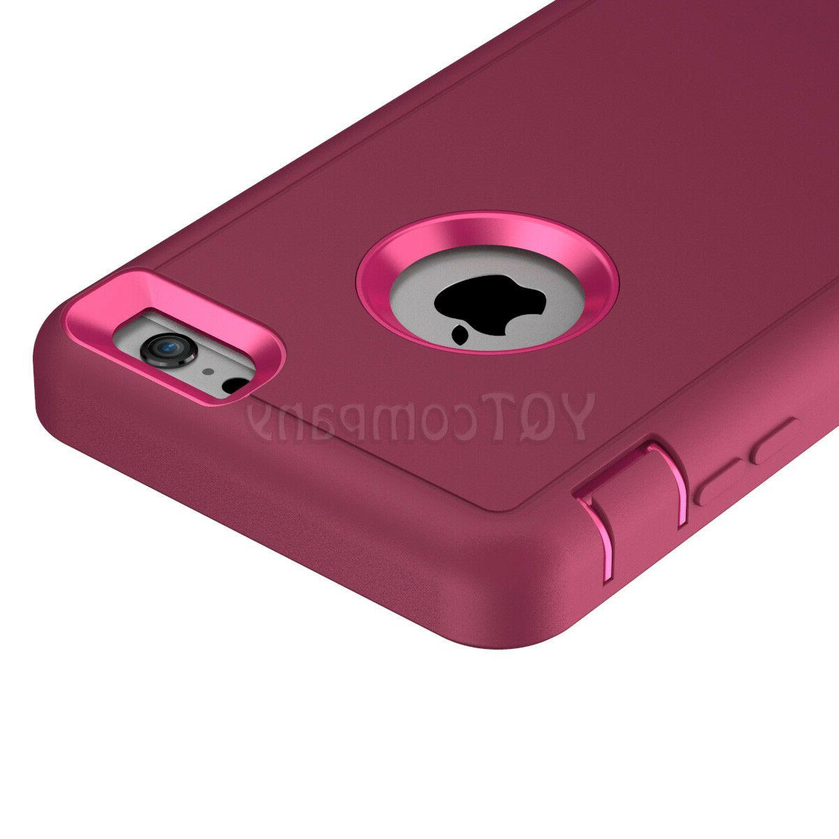 For 6 7 XS Max XR Case Hybrid Duty Rubber