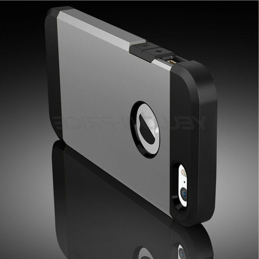 For iPhone Rugged Shockproof Hard Armor Cover