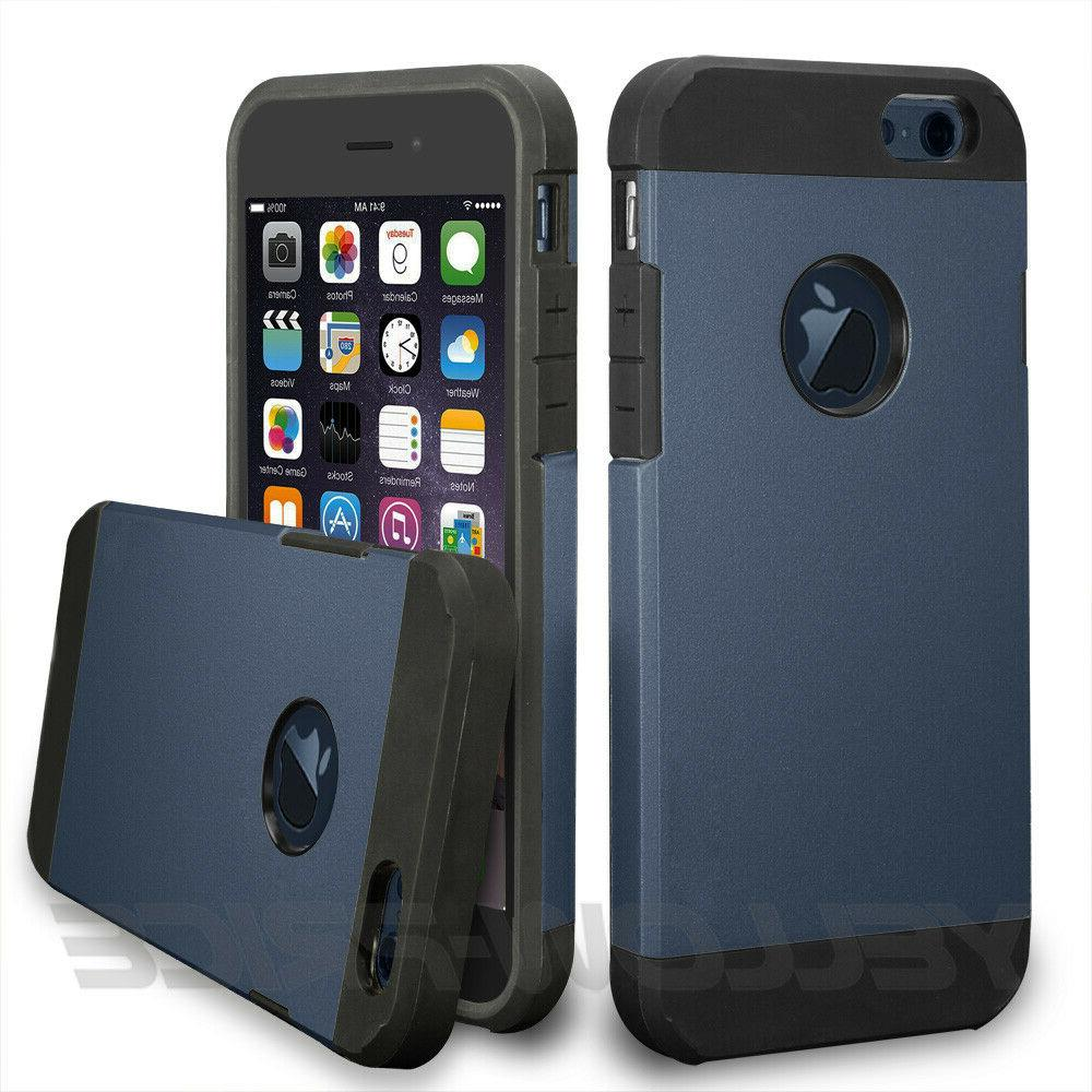 For iPhone 6 Plus 6S Rugged Shockproof Armor Cover