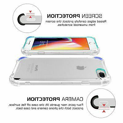 for iPhone Case/iPhone 8 Case MoKo Crystal Clear Corne...