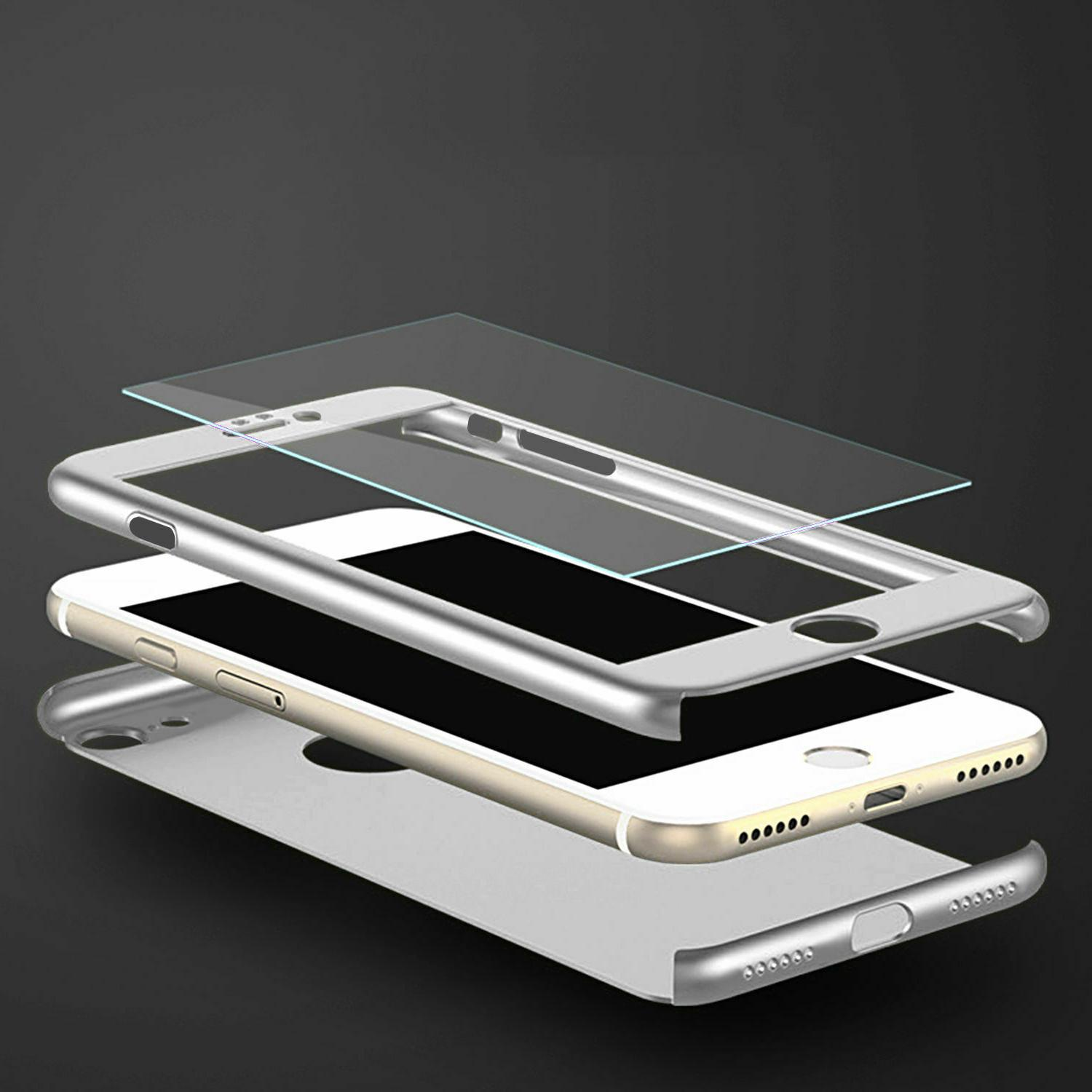 For iPhone 7 X XS Ultra Thin Hard Glass
