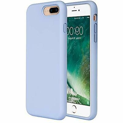 Miracase 8 Silicone Case, 7 Plus Case Rubber Protection Shockproof Protection Apple iPhone 7 Plus/iPhone 8 Purple
