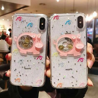 iPhone X Xs Case,Blingy's New Funny Animal Style Clear