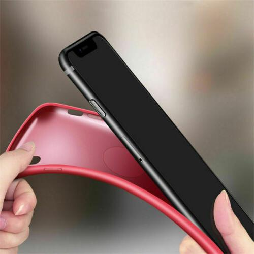 For XR 8 7 XS Max Shockproof Protect Soft Case