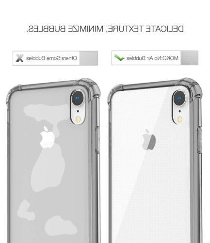 MoKo Crystal Anti-Scratch Hybrid Case for iPhone 6.1