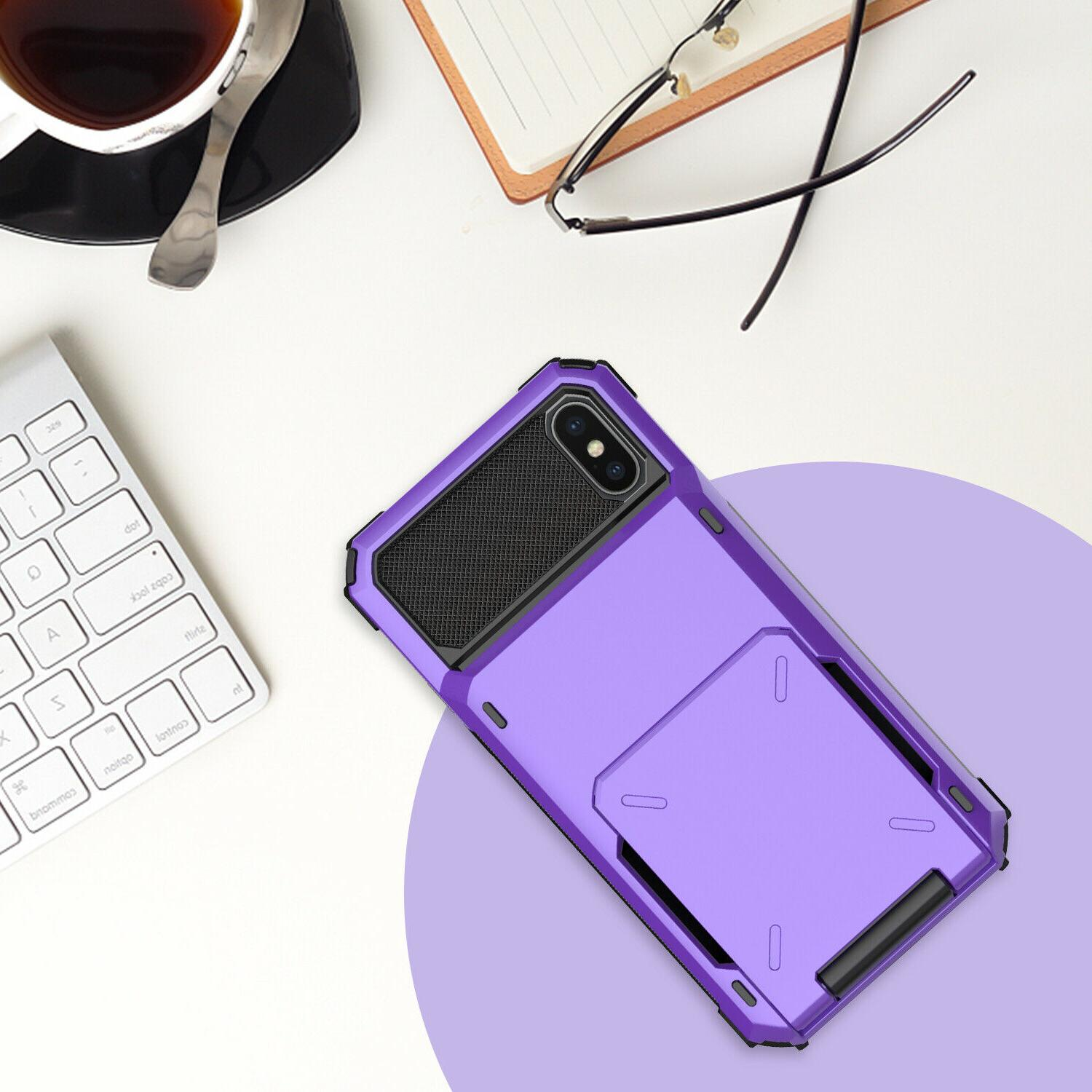 For XS Max Heavy Duty Case With Card Holder