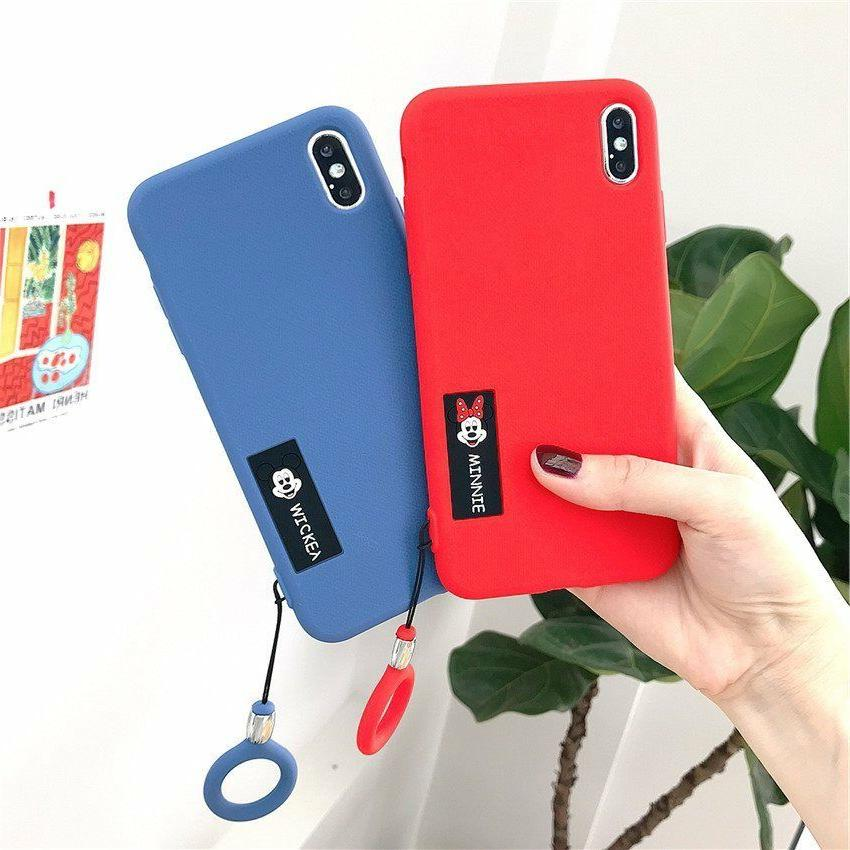 minnie mickey mouse case fr iphone xs