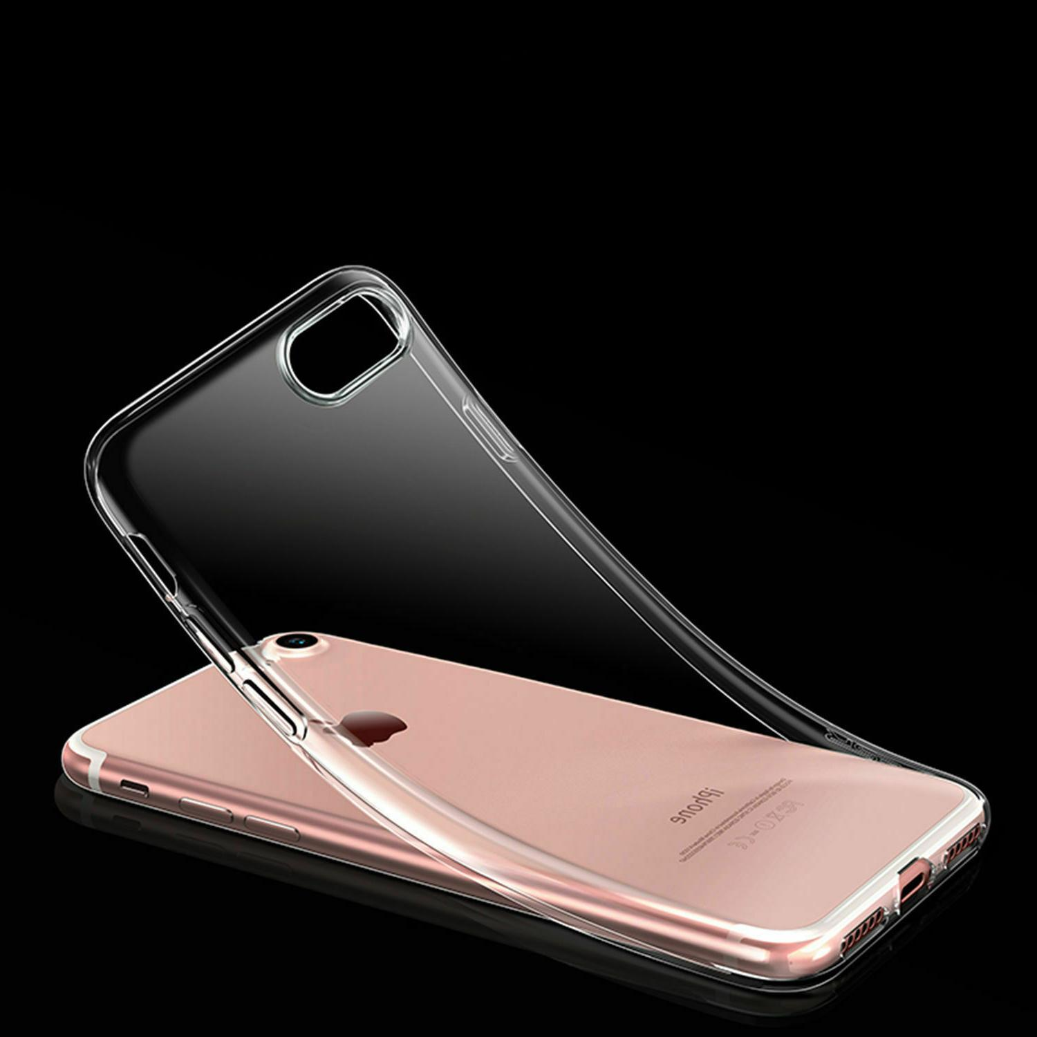 Phone Case Silicone Clear Slim for iPhone Plus XR
