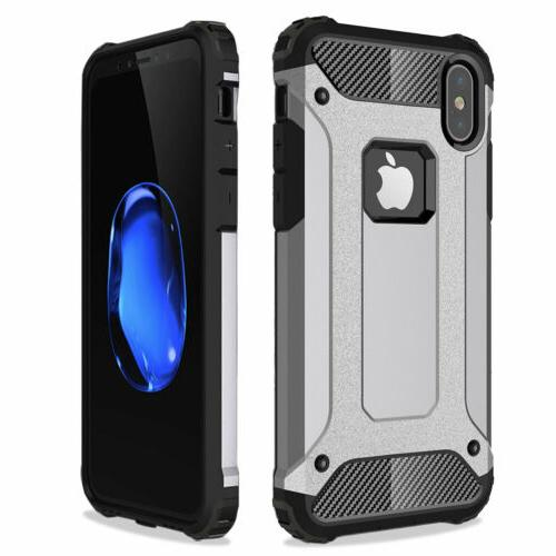 Shockproof Hard Case Cover iPhone X 6s SE