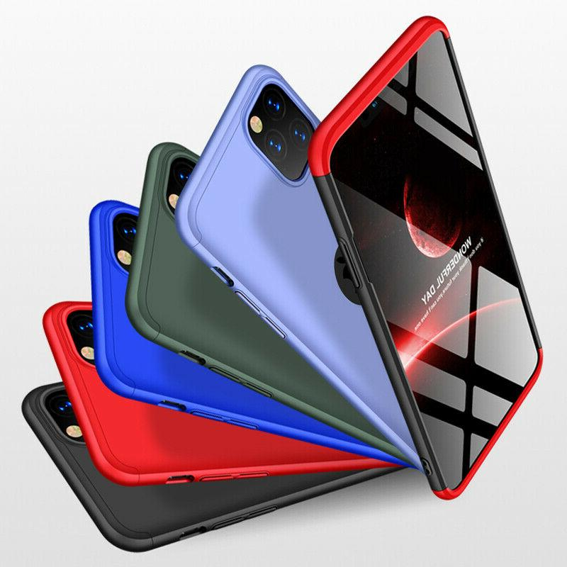 Slim Hard Thin Case Cover Glass iPhone 11 Pro