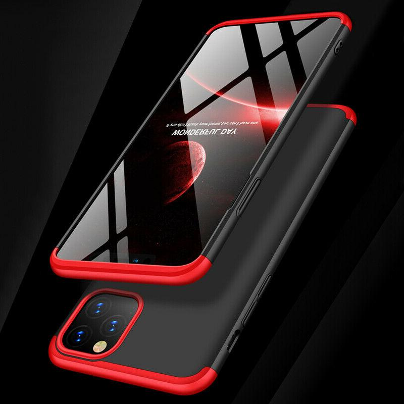 Slim Hybrid Thin Case Cover Glass for iPhone Pro