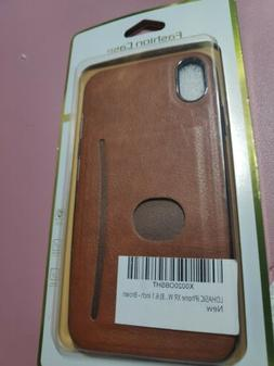 Lohasic Leaather Case For Iphone XR -Brown