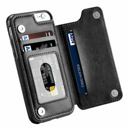 Leather Flip Wallet Card Holder Case For Apple iPhone 11 Pro