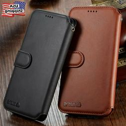 Leather Wallet Flip Card Holder Cover Case For iPhone 12 11