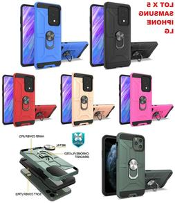 lot 5 IPHONE 12 11 Samsung A21 S20 Ultra NOTE Plus Case armo