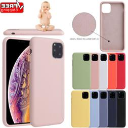 Luxury Silicone Case Cover For Apple iPhone11Pro Max XR XS M