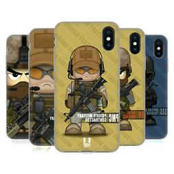 HEAD CASE DESIGNS MILITARY BABIES GEL CASE FOR APPLE iPHONE