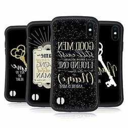 HEAD CASE DESIGNS NAME QUOTES HYBRID CASE FOR APPLE iPHONES