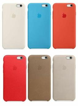 New - Authentic - Apple - Silicone / Leather - Case for iPho