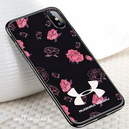 New Rose Under5Armour9Coach Cover iPhone X XR XS MAX 6 7 8 S