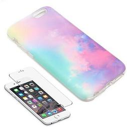 Ucolor Pastel Gradient Case Cover of iPhone 6 6S Protective