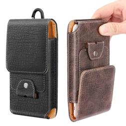 """MoKo Phone Holster, PU Leather Belt Loop Case Pouch for 6.5"""""""
