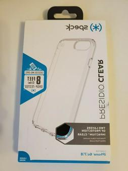 Speck Presidio Clear Case Cover for iPhone 8 iPhone 7 & iPho