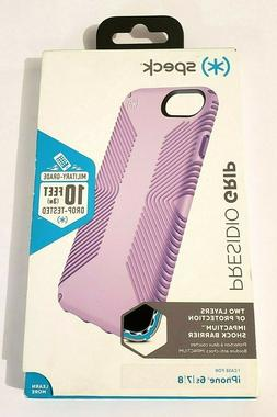Speck Presidio Grip Case for iPhone 7 & iPhone 8, Aster Purp