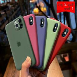 Protective Silicone Case For iPhone 11 Pro XR XS Max 8 7 Plu