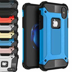 Shockproof Hybrid Silicone Hard Case Cover For Apple iPhone