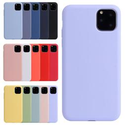 Silicone Case For iPhone 11 Pro Max Full Protection Liquid S