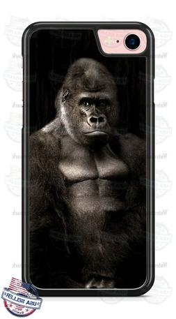 Silverback Gorilla I see You Custom Phone Case Cover Fits iP