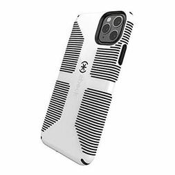 Speck CandyShell Grip iPhone 11 Pro Max Case, White/Black
