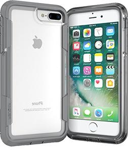 Pelican Voyager Cell Phone Case Iphone 7 Plus Clear/Grey Cle